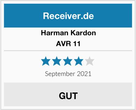 Harman-Kardon AVR 11 Test