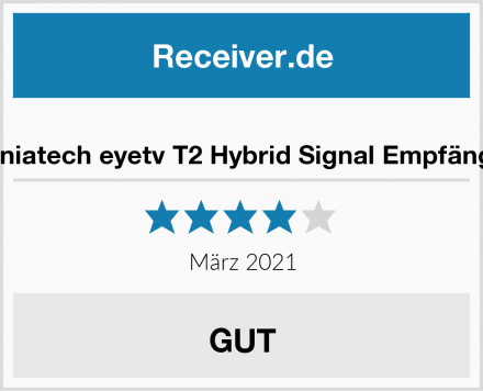 Geniatech eyetv T2 Hybrid Signal Empfänger Test