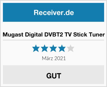 Mugast Digital DVBT2 TV Stick Tuner Test