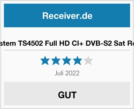 Telesystem TS4502 Full HD CI+ DVB-S2 Sat Receiver Test