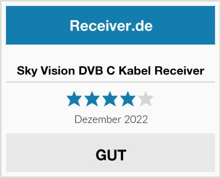 Sky Vision DVB C Kabel Receiver Test