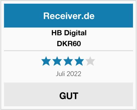 HB Digital DKR60 Test