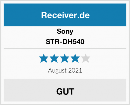 Sony STR-DH540 Test