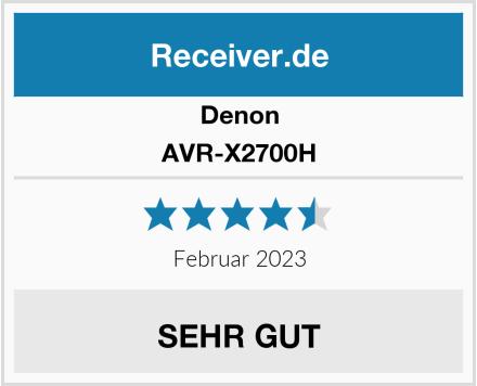 Denon AVR-X2700H Test