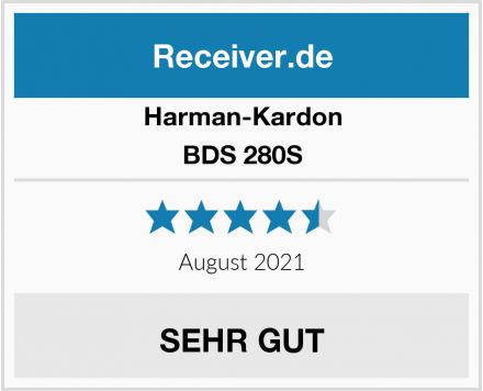 Harman-Kardon BDS 280S Test