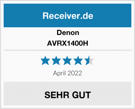 Denon AVRX1400H Test