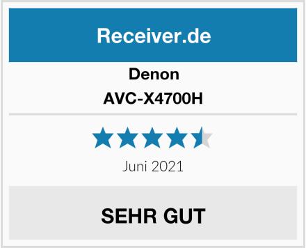 Denon AVC-X4700H Test