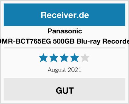 Panasonic DMR-BCT765EG 500GB Blu-ray Recorder Test