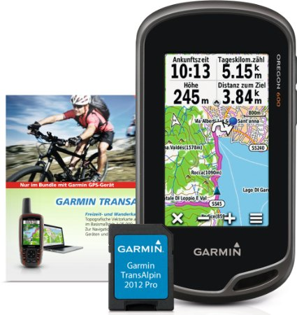 Garmin Oregon 600 Plus Transalpin
