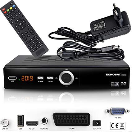 HD Line Echosat 20900 M Digital Satelliten Sat Receiver
