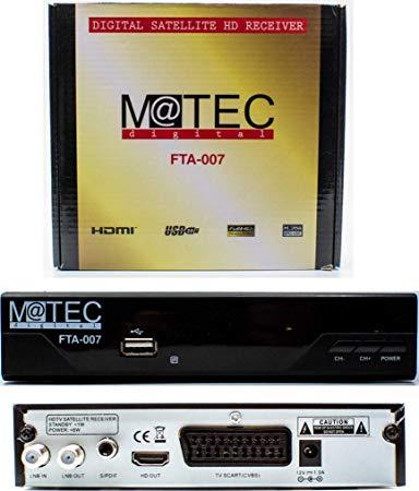 M@tec Digital FTA 007 Digital HD Satelliten Receiver
