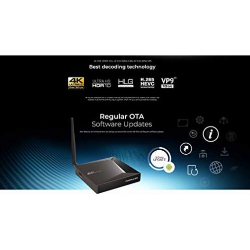 Formuler Z8 5G 4K UHD IPTV Android 7.0 Nougat Player
