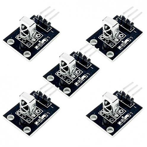AZDelivery 5 x KY-022 Set IR Empfänger Infrarot Receiver