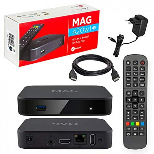 HB Digital 4K IPTV Set TOP Box
