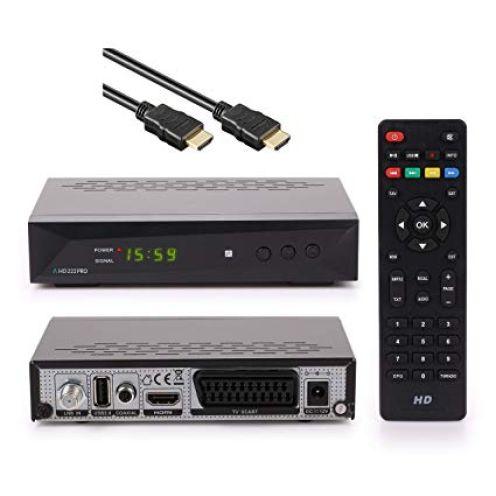 Anadol HD 222 Pro 1080P Digital HDTV Sat-Receiver