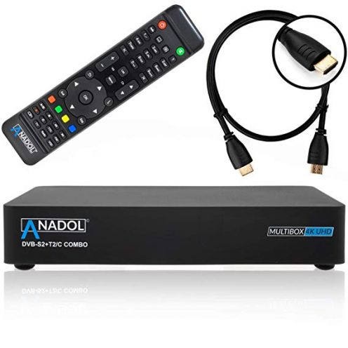 Anadol Multibox 4K UHD E2 Linux Combo