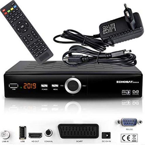 HD Line Echosat 20900 M Digital Satelliten Sat Receiver