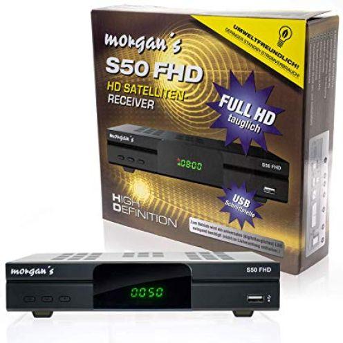 Morgans S50 FHD digitaler Satelliten Sat-Receiver