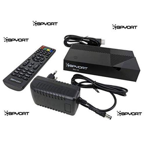 Spycat Mini V2 Digital HDTV E2 Linux Twin Sat-Receiver